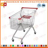 슈퍼마켓 미국식 아연 쇼핑 카트 (Zht39)