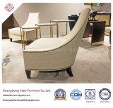 Freizeit-Hotel-Möbel mit Gewebe-Vorhalle-einzelnem Stuhl (6206)