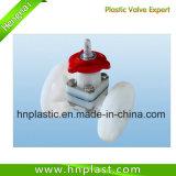 Válvula de membrana de plástico de la válvula de diafragma/PVC/PVDF Válvula de diafragma/válvula de membrana termoplástica