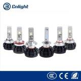 Cnlight nova chegada da série M1 de alta potência 12V 24V Xhp50 H4 H13 9004 9007 auto farol LED H1 H3 H7 H10 H8 H9 H11 9005 9006 5202 R3 Lâmpadas LED