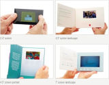 "Asunto de encargo 2.4 folleto del vídeo de "" 4.3 "" 5 "" 7 "" 10 '' LCD"