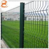 Recubierto de PVC galvanizado Jardín cercas de malla de alambre soldado