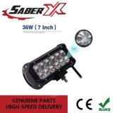 방수 7inch 36W 플러드 LED 일 표시등 막대