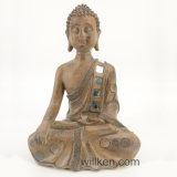 Estatua Meditating de Buddha de la resina que se sienta para la venta