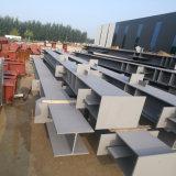 Structure en acier utilisé comme atelier de construction avec la CE