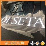sinal acrílico grande da letra da placa do diodo emissor de luz do anúncio 3D ao ar livre