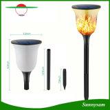 La llama al aire libre impermeable ligera solar del baile de la llama de 96 LED que oscila Torches las luces para el camino de la yarda del patio del jardín