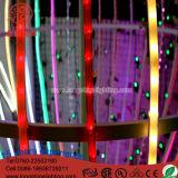 Свет украшения рождества освещения веревочки мотива шарика СИД Gaint крытый