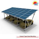 Qualitäts-Autoparkplätze beluden Boden-Montierung für Sonnenkollektor mit Ballast (MD0179)