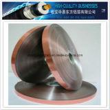 Folha de cobre película laminada rolada do animal de estimação para o cabo