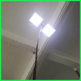 12V 높은 광도 휴대용 LED 가로등 옥외 가벼운 정원 램프