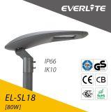 80W LED Straßenlaterne-LED Parkplatz-Garten-Beleuchtung