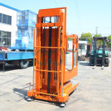 Mastros aéreos do dobro da máquina desbastadora conservada em estoque (móveis) para 3.3m