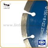 """6개의 """" /150 mm 파란 절단 디스크 다이아몬드는 자연적인 돌을%s 톱날을"""