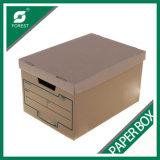 Zoll gedruckter Oberseite-und Unterseiten-Archiv-Kasten