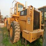 Cargador usado oruga del gato 966e de la maquinaria de construcción del cargador de la rueda delantera
