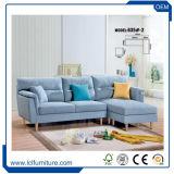 Base de sofá moderna seccional de lujo de la dimensión de una variable del negro R con el sofá funcional de la sala de estar de los apoyabrazos