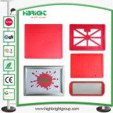 Panier de la publicité de la poignée en plastique Board Display