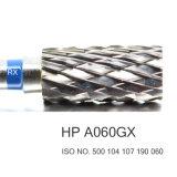 HP à vitesse réduite A060GX de Burs de foret de coupeurs dentaires de carbure coupée par croix de matériel de laboratoire