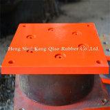 Hdr haut palier élastique d'amortissement pour l'isolation de base