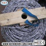 保護に網の熱い浸された電流を通された有刺鉄線の網の囲うこと