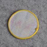 Banheira de Estilo Livre de forma personalizada em tecido Circular Patch para vestuário
