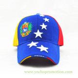 重いブラシをかけられた綿のあや織りのEmbrioderyサンドイッチ野球帽の野球帽のスポーツの帽子