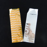 Saco colorido pequeno personalizado gama alta do chocolate do bolso de Flate