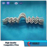 Doppia riga laterale legame del cavo del legame del PVC
