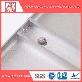 Isolation thermique et acoustique de panneaux muraux en aluminium pour soffites