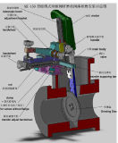 Machine de rodage portative de soupape à vanne de Dn50-1250mm