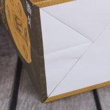 bolsa de papel de 157g C2s, bolsa revestida bilateral de la bolsa de papel, blanca y negra de papel