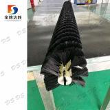 De witte en Zwarte Zachte Nylon Schoonmakende Borstel van het Zonnepaneel