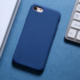 Funda de silicona líquido suave con el logotipo para el iPhone 6 Funda de silicona para Iphonex Orignal/7/8 Plus