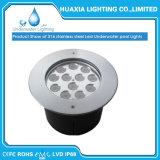 36W IP68는 스테인리스 샘을%s 다중 색깔 LED 수중 수영장 빛을 방수 처리한다