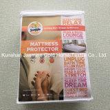 100% protezione impermeabile del materasso del tessuto lavorata a maglia poliestere 105GSM