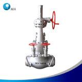 Valvola di globo d'acciaio attuata elettrica del dispositivo di tenuta a pressione