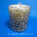 جديدة صنع وفقا لطلب الزّبون بلاستيكيّة مستديرة صندوق لأنّ شمعة منتوجات