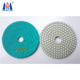 4-8 Zoll-Granit-Marmor-Diamant-flexible Polierauflagen für Verkauf