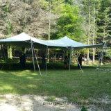 Большой Strong случае используется Stretch палатка