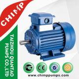 Шимпанзе нагнетает Y2 электрический двигатель Asychronoous чугуна AC Poles Standarded серии 4 трехфазный с CE