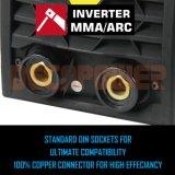 Mosfet MMA van Zx7-250 380V de Lasser van de Omschakelaar van de Boog van de Machine van het Lassen
