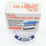 Цена по прейскуранту завода-изготовителя SAE & метрический комплект Hex ключа шарового наконечника Т-образной рукоятки