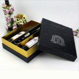 Gold/Silver estampando las pequeñas cajas de cartón para embalaje del vino