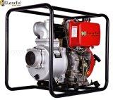 De draagbare (100mm) 186f 10HP Diesel 4inch wijd Gebruikte Pomp van het Water