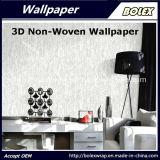 Papier peint 3D non-tissé de modèle chaud pour la décoration à la maison