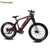 26 '' 500W 48V fette Gummireifen-volle Aufhebung-elektrisches Fahrrad