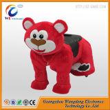 多彩な毛皮で覆われたの動物の乗車(WD-AN003)