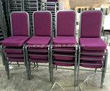 Asiento moldeado que enclavija las sillas amontonables de Pasillo del banquete de la iglesia del metal (JY-G12)