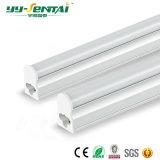 Vendedor caliente 1000mm de 15W T5 Tubo Fluorescente LED integrado
